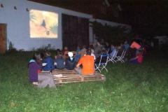 Projekce pro děti v Záhoří - Srpen 2016