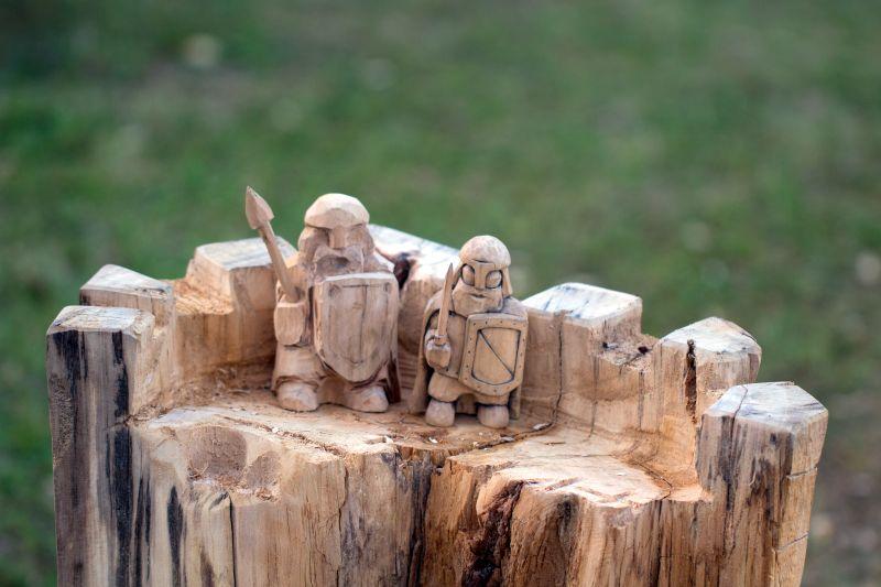 Sedmý den - vernisáž sochařských děl
