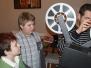 Promítání pro dětský domov v Klánovicích o vánocích 2012