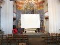 Plátno v kapli ve Špitálku