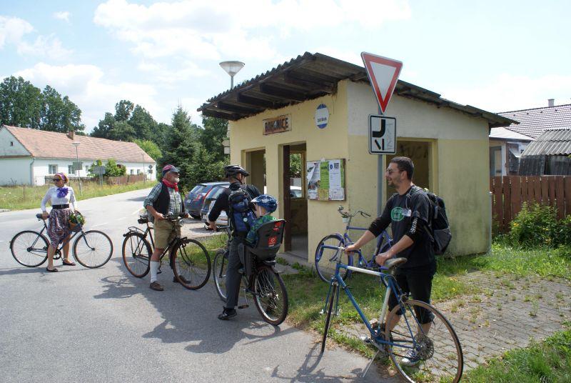 Zastávka - trasa drsňáků