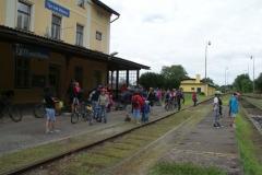 Týn nad Vltavou - nádraží